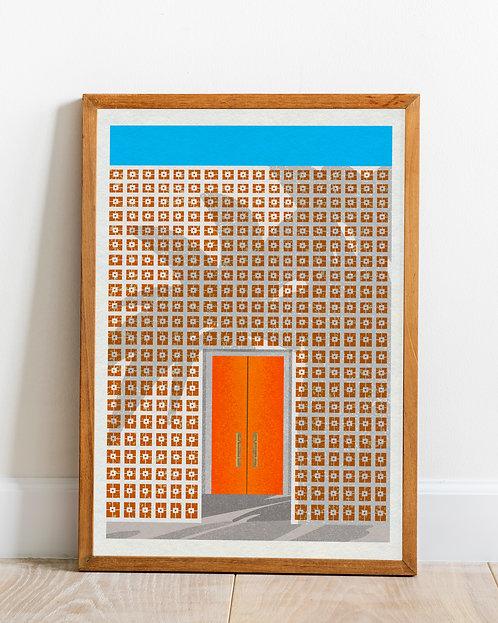 'Palm Springs' print