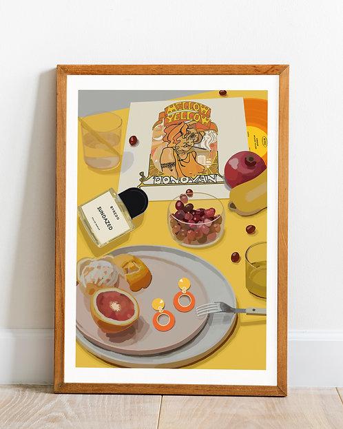 'Sundazed' print