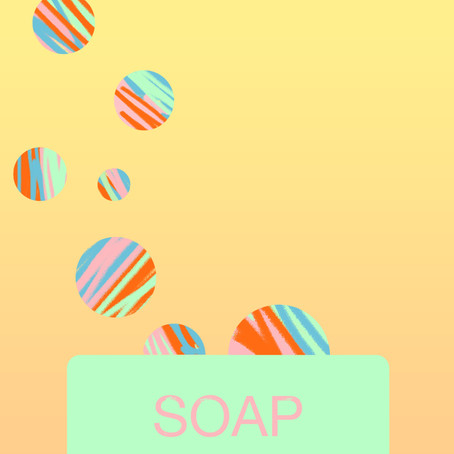 What colour is the smell of soap?