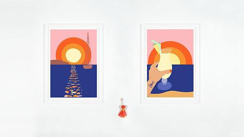 Ibiza Sunsets Duo