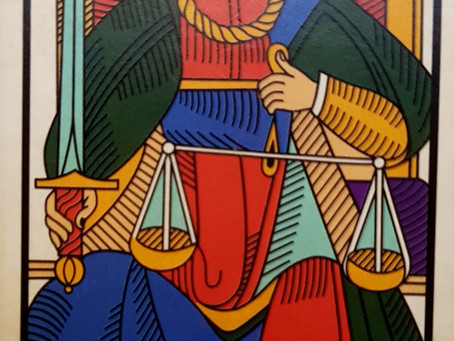 VIII   La Justice  di Fabio Perpetua