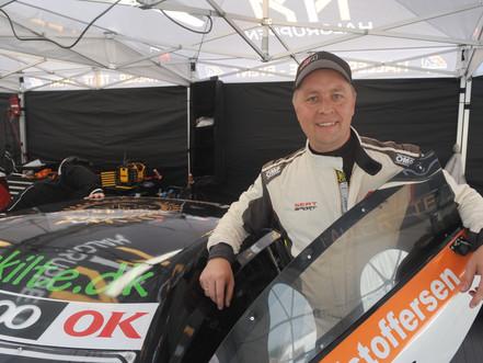 Jens Kristoffersen debuterer i Super GT