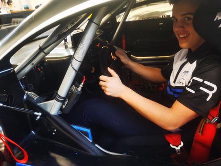 Andreas Falck stiller op for MB Racing i Super GT