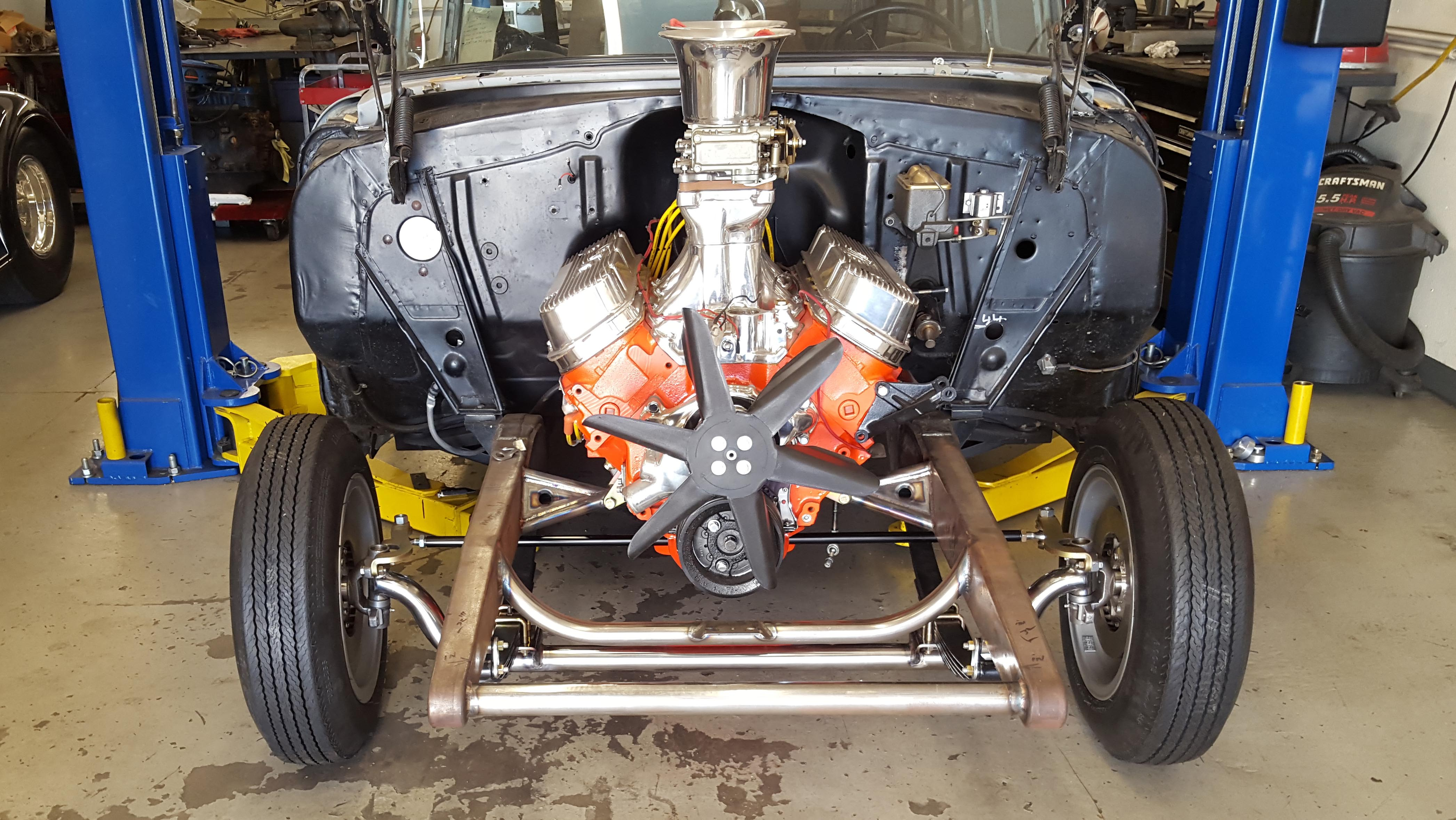 Building a '55 Chevy Gasser California Style