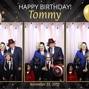 Tommy's Surprise Birthday