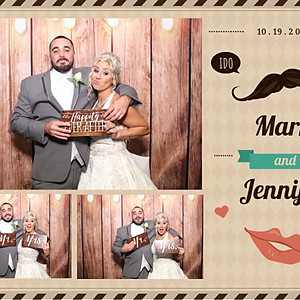 Wedding of Jennifer and Mark