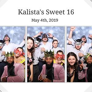 Kalista's Sweet 16