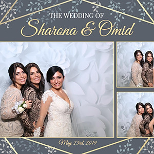 The Omid and Sharona Wedding