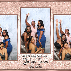 Shalyse Jones 30th Birthday Celebration