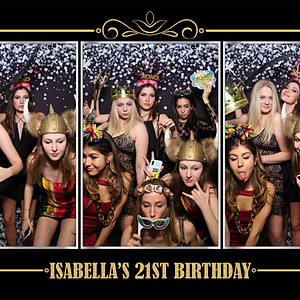 Isabella's 21st Birthday