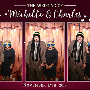 Wedding of Michelle and Charles