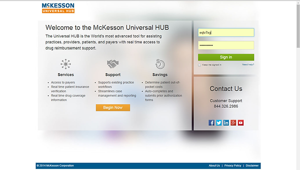 McKesson UHUB Welcome