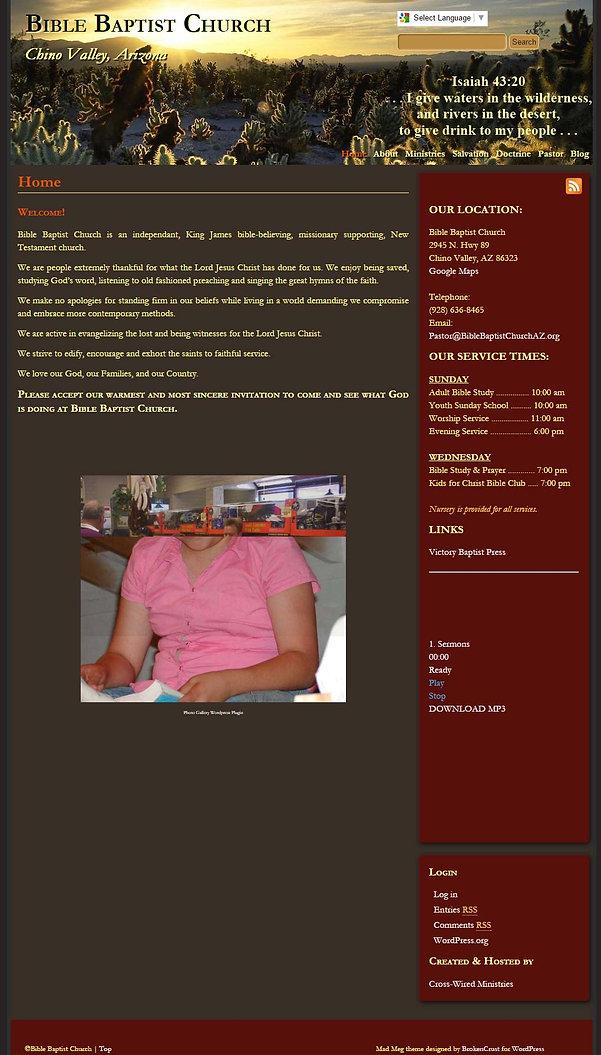 Old LMBC Website