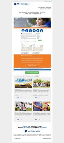Mr Insurance Email Marketing