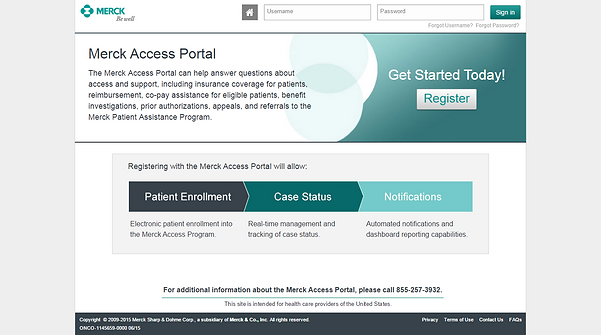 Merck Web Portal