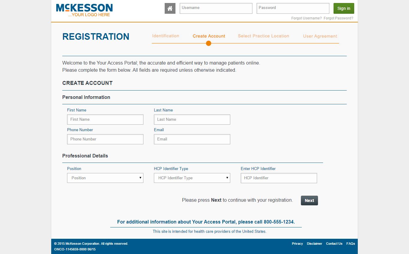 McKesson Register