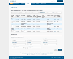 McKesson UHUB Portal Cases