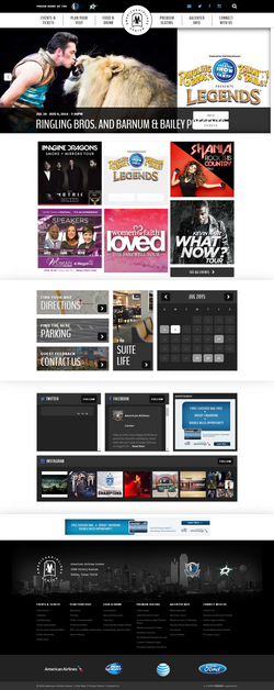 American Airlines Center Responsive