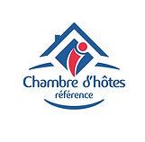 Logo Chambre d'Hôtes Référence avec text