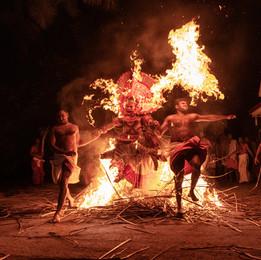 Theyyam-Fest in Kerala - Fotografin Runa Lindberg