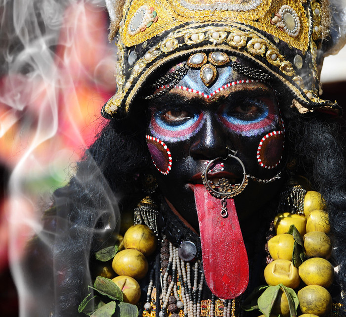 Portrait of Kali