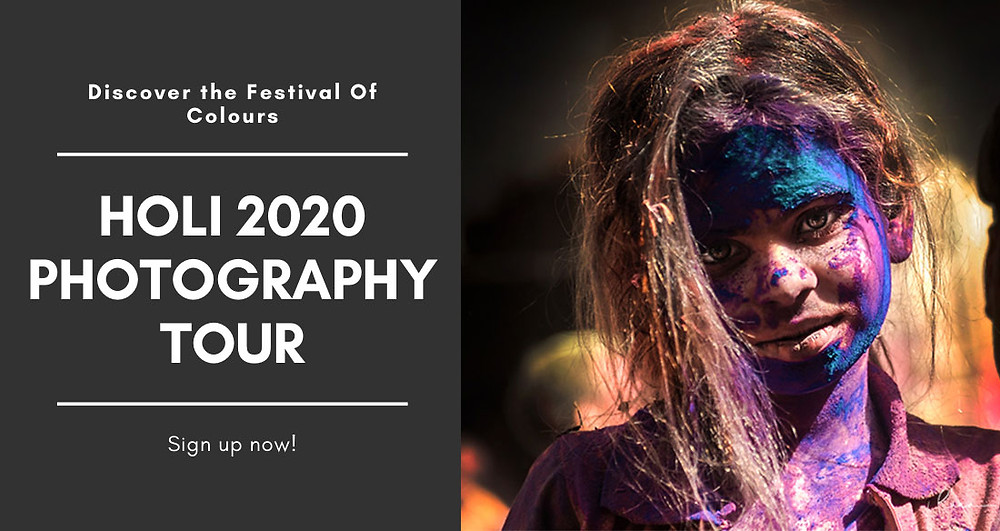 Holi 2020 Photography Tour