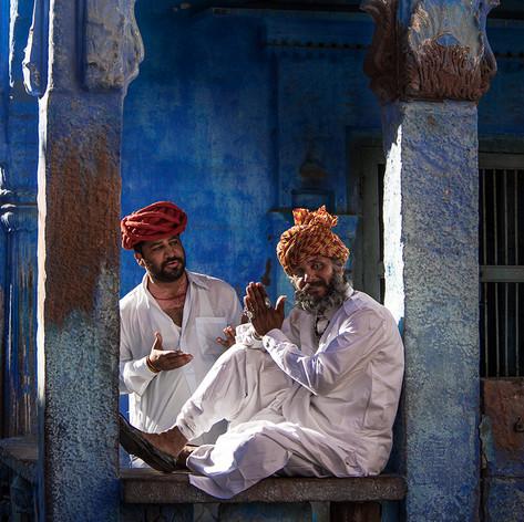 Blaue Stadt Jodhpur - Fotografin Runa Lindberg