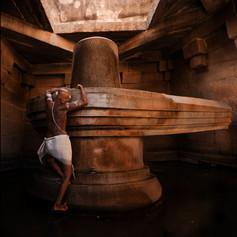 Shiva Linga Tempel in Hampi - Fotografin Runa Lindberg