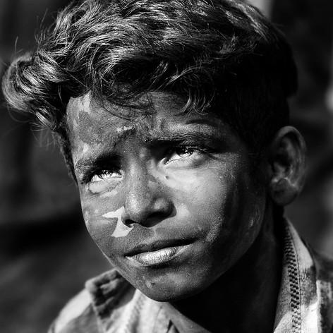 Portrait eines indischen Jungen - Fotografin Runa Lindberg
