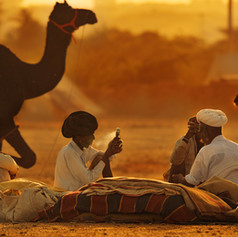 Nomads in Pushkar, India