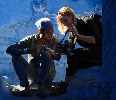 Get in contact with Runa Lindberg to book a photoexpedition in India