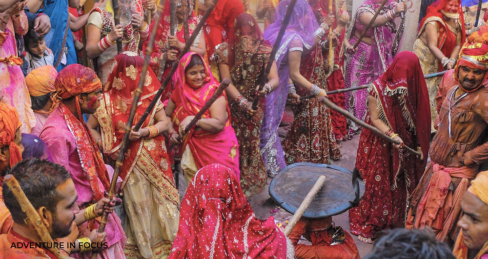 Lathmar Holi, Barsana, Best Holi Photography Guide 2020 India