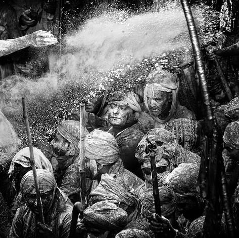 Holi - Fest, Indien - Fotografin Runa Lindberg