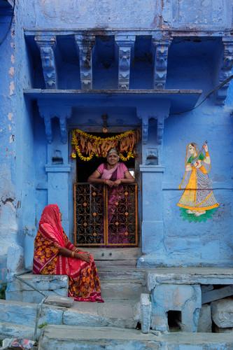 Jodhpur Old Town, Rajasthan, India