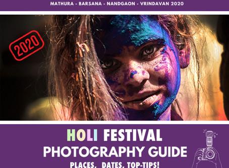 BEST HOLI FESTIVAL GUIDE 2020
