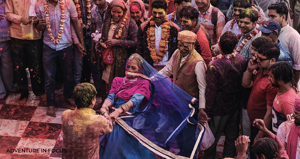 Laddu Mar Holi - Barsana, Best Holi Photography Guide 2020 India