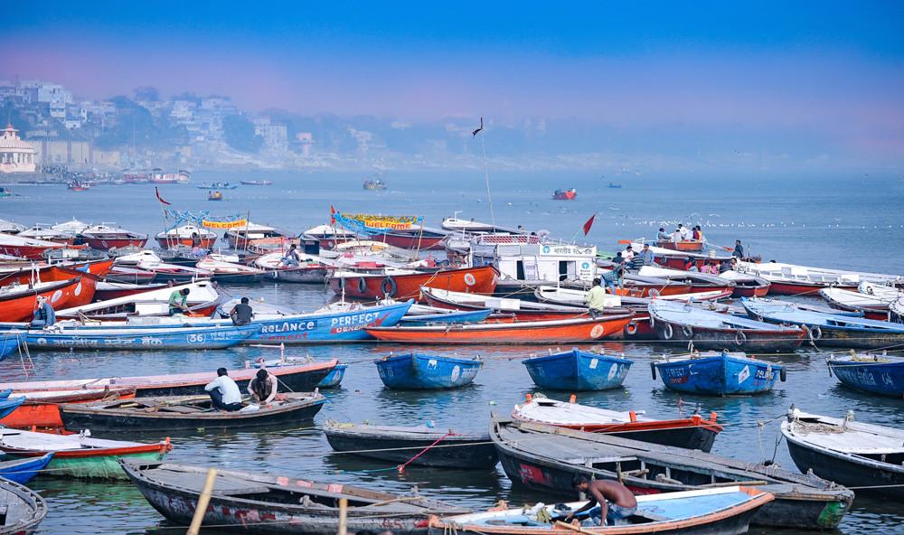 Ganga boats