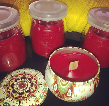 Perfeckt Imperfeckton organic  candles