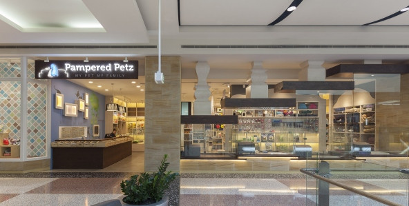 Pampered Petz pet store by Rptecture Architects, Sydney – Australia
