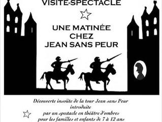 Visite spectacle de la Tour Jean Sans Peur