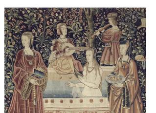 Lecture au musée de Cluny