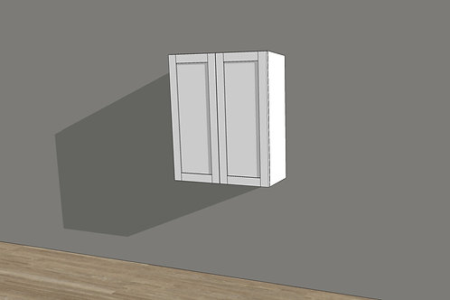 "Wall Cabinet 2 Doors 30"" High"