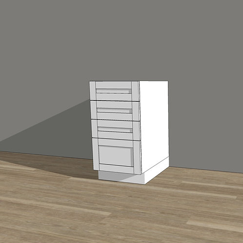 Base Cabinet with 4 Drawers