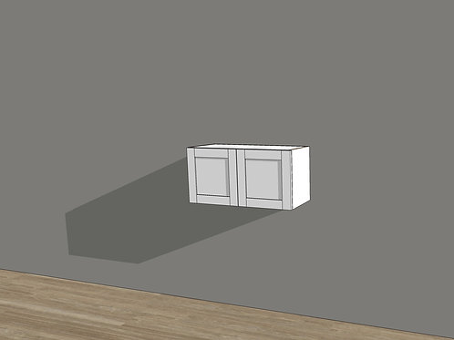 """Wall Cabinet 15"""" High"""