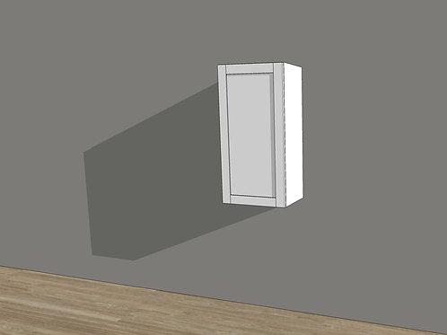 """Wall Cabinet 1 Door 30"""" High"""