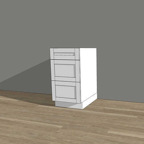Base Cabinet with 3 Drawers