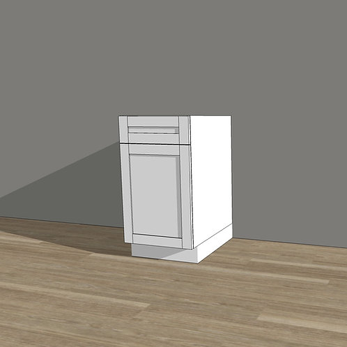 Vanity Cabinet - Door & Drawer