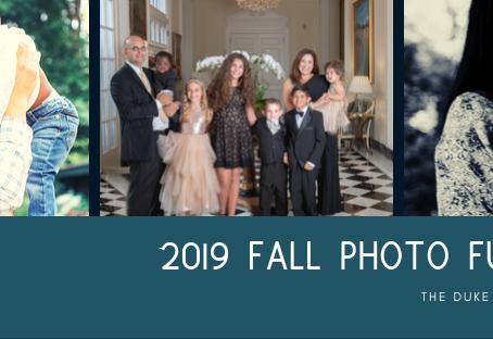 Fall Photo Fundraiser