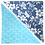 Thumbnail: Blue Hibiscus 6 / Blue Pineapple 3 Bandanna