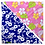 Thumbnail: Blue Hibiscus 4 / Pink Plumeria 4 Bandanna